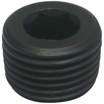 Tapered Plug, SWCH10R Black Oxide Film