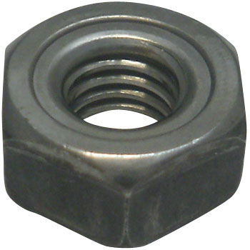 Hex Welding Nuts Pilot, 1A Form, Iron/Fabric