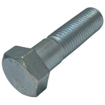 Hex Head Bolt, Iron, Uni Chromate, Half Thread Screw
