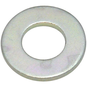 Round Washer ISO, Iron And Trivalent Chromate