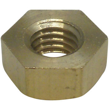 Machined Nut, Brass