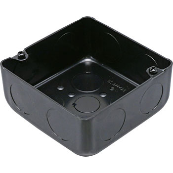 Painted Medium-Sized Squareuare Outlet Box Shallow Type