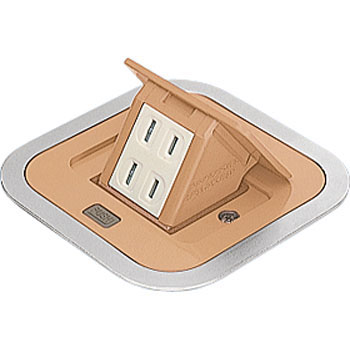 Hidden F Type Outlet, House Use, Power Source, 2 Outlet