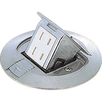 Round Type Pop-Up Socket, 2-Mouth