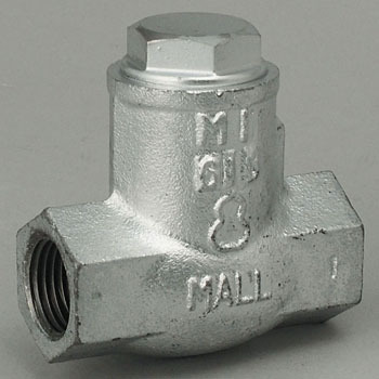 Malleable 10K General Purpose Swing Check Valve, Screwed