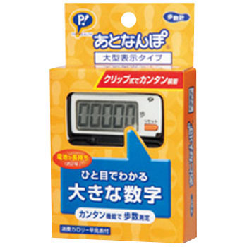 Pedometer, Large Display