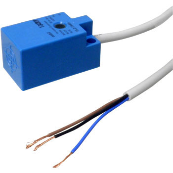 Pre-Wired Type Square DC 3-Wire Proximity Sensor