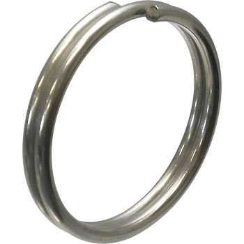 Stainless W Ring, Double Ring
