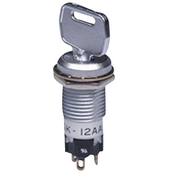 Mounting Screws Miniature Key Lock Switch Sk Series