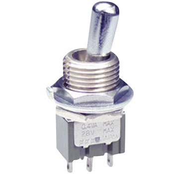 Large Bushing Type Toggle Switch M Series