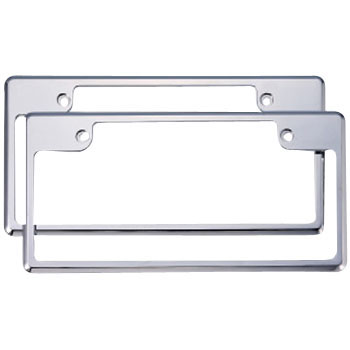 License Plate Frame Set, K Car