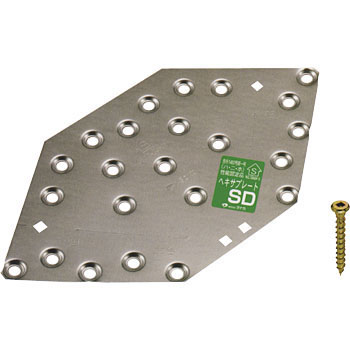 Hex Plate Bracket SD