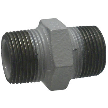 Hex Nipple Resin Coating Pipe Fittings for Water