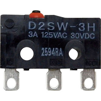 Sealed Subminiature Basic Switch D2SW
