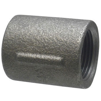 Malleable Cast Pipe Fitting Socket Black