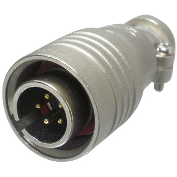 One Touch Lock Round Connector PRC03 Series Plug