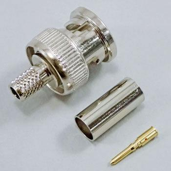 BNC Crimp Type Connector Plug