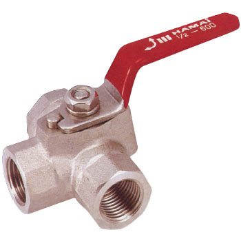 Stainless Steel 3 Directions Ball Valve