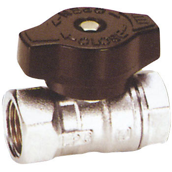 Gas Valve Having Thread Connection
