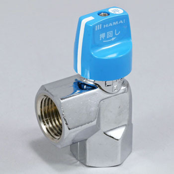 Flexible Tube Gas Valve Angle Type, Knob