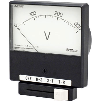 Instrument AC Voltmeter With Mechanical Indicating Instrument Changeover Switch