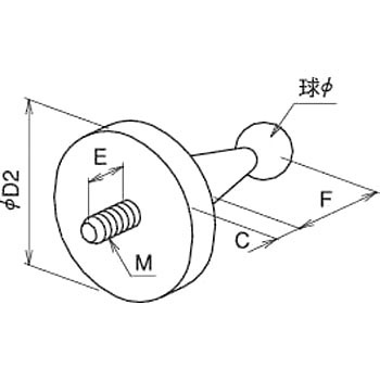3 Dimensional Bracket Join Ball, Variable Type