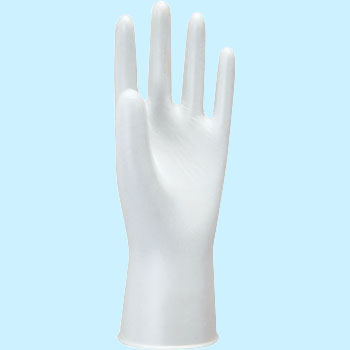 Model Lobe Natural Latex Disposable Gloves, With FlourNo.910