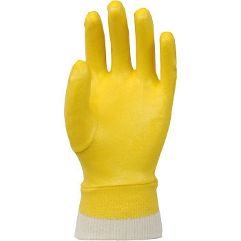 Model Lobe Industrial Protective Gloves Nitrile Jersey No.620