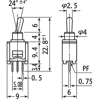 Toggle Switch MS-611 Series