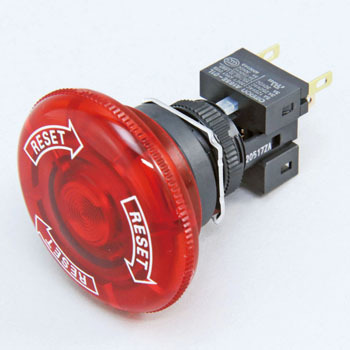 Emergency stop switch (phi16) A165E