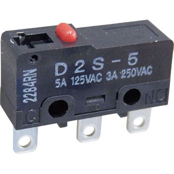 Miniature basic switch D2S