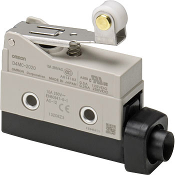 Economical Short Hinge Roller Lever Omron D4MC-2020 High Utility Enclosed Switch