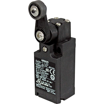 Small Safety Limit Switches, Providing Full Lineup Conforming to International Standards D4N