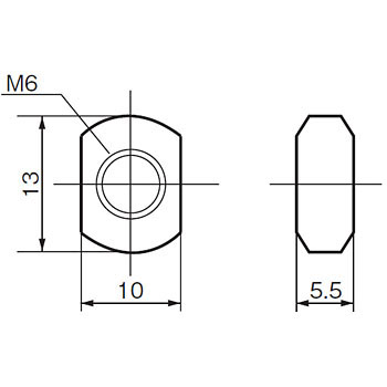 Lock Nut F03- for Electrode