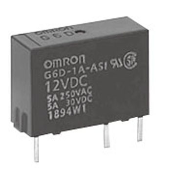 Small Slim Power Relay G6D