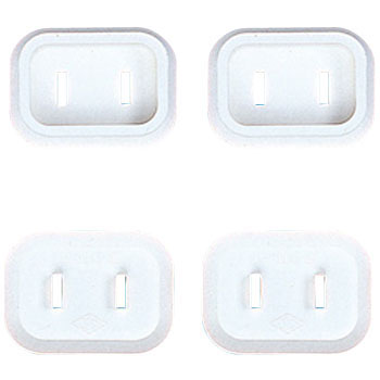Plug Safety Cover, 2P, 4pcs