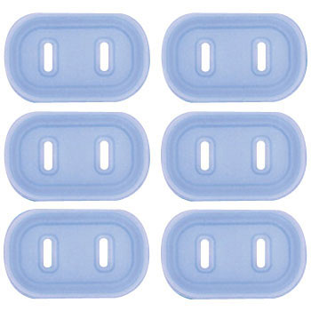 Plug Safety Cover, 2P, 6pcs