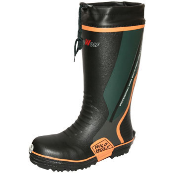Treading Resistance Plate Into Safety Iron Core Rubber Boots