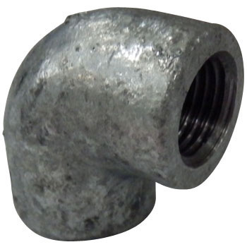 Elbow Ductile, White Heart Malleable Cast Iron, Pipe Fitting