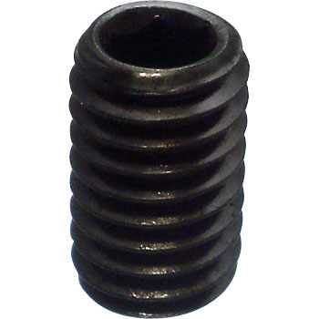 Hex Socket Screw Flat Point SCN435, Black Oxide Film