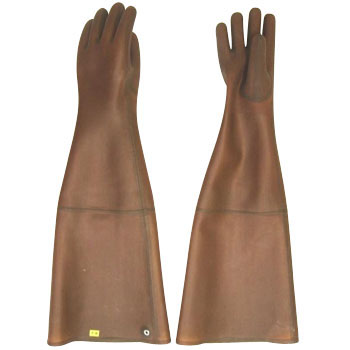 Thick Natural Rubber Gloves, SlappingMortar 5 Ultra Long