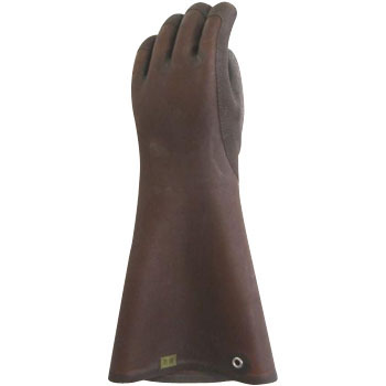 Thick Natural Rubber Gloves, SlappingThick 5 Long