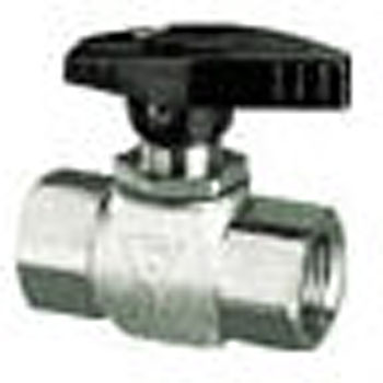 Panel Mounted Ball Valve Stainless