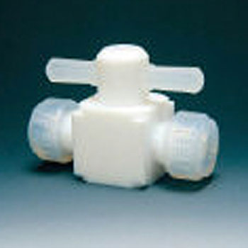 PFA 2 Way Quick Valve, Press Fitting Type