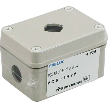 PCS Type Plastic Box, with 22 Fai  Hole