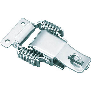 Steel Toggle Latch, Spring Type with Lock Keyhole