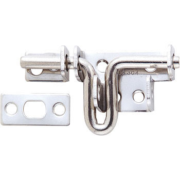 Strong stainless steel latch