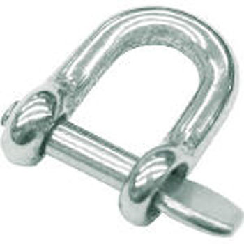 Screw shackle made of stainless steel