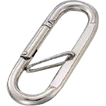 Petit Carabiner, Stainless Steel, Retainer