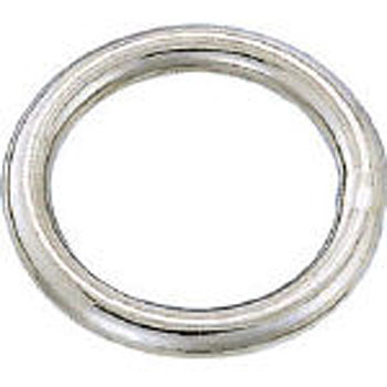 Round Link, Stainless Steel